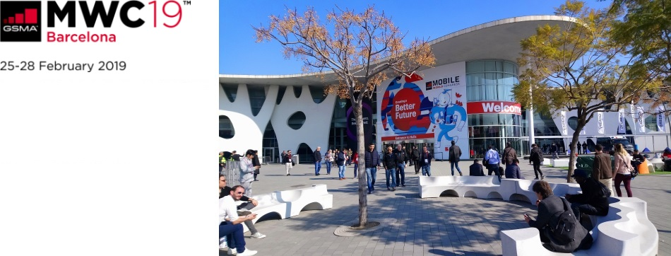 5G Mobile World Congress - Barcelona 2019  Event Venue
